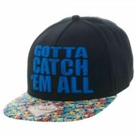 Pokemon Catch 'Em All Snapback Cap - Genuine - AU Stock
