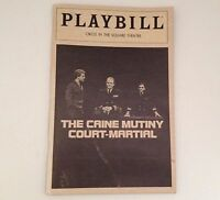 Playbill Caine Mutiny 1983 Court Martial Circle in the Square Theatre Broadway