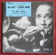 KID ORY  AND HIS CREOLE BAND   CD AT THE GREEN ROOM  VOL.1