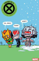 HOUSE OF X #4 F (2019) MARVEL COVER F  SKOTTIE VARIANT HICKMAN 1st Print