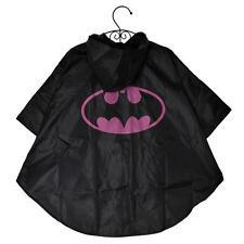 New Kids Boys & Girls Superhero Poncho Raincoat Rain Coat Age 3 4 5 6 7 8 Years