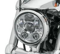 5.75 5-3/4 Chrome Daymaker Projector LED Headlight For Harley Dyna Sportster
