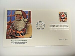 """September 30th, 1995  """"Victorian Christmas 1995"""" First Day Issue Lot K"""