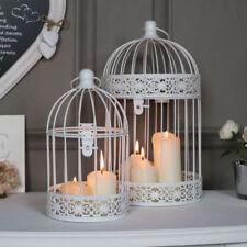 Bougeoirs et photophores de décoration intérieure de la maison lanternes campagnes en métal