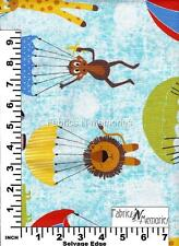 Hanging Out Fabric Michael Miller F1079 BY THE HALF YARD