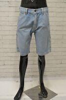 Bermuda LEVIS Uomo Taglia 32 Pantalone Pants Jeans Shorts Pantaloncino Cotone