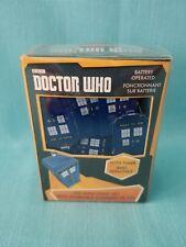 "DOCTOR WHO  ""TARDIS LED FAIRY MINI LIGHT SET""   KURT ADLER   BNIB"
