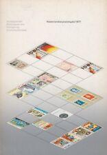 Nederlandse postzegels 1977, uitgave van  Staatsbedrijf der PTT, 1978