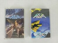 Lot of 2 Audio Cassettes of Classic Rock from ASIA