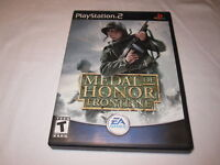 Medal of Honor: Frontline (PlayStation 2, 2002) PS2 Black Label Complete Exc!