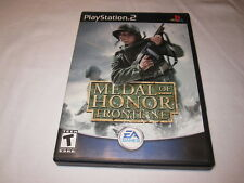 Medal of Honor: Frontline (Playstation PS2) Original Release Complete Excellent!