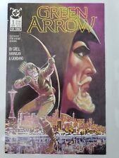 GREEN ARROW #1 (1988) DC COMICS MIKE GRELL! ED HANNIGAN! BLACK CANARY 1ST PRINT