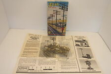 ATLAS 775-49 12 TELEPHONE POLES 4 TRANSFORMERS & 4 TELEPHONE BOXES SEALED NIB
