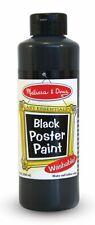 Melissa & Doug Black Poster Paint 8 Oz Flip Top
