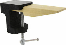 Jewelers Wood Bench Pin Filing Block Anvil Clamp Tool(bp20)