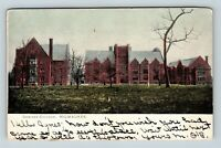 Milwaukee WI, Downer College, Wisconsin, Vintage Postcard Z62