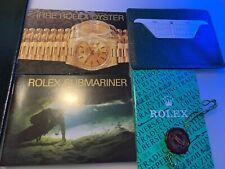 Rolex Submariner Booklet Set 1996 deutsche  Ausgabe 6 teilig