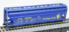 Model Power N Cylindrical Grain Hopper Heritage Fund ALPX 628099 LOOSE Kadee Trk