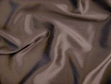 Mocha Faux Silk Polyester Dress Fabric 150cm SOLD BY THE METRE FREE P+P
