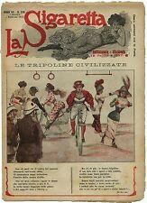 SATIRA-UMORISMO_La Sigaretta_Anno VII - N.290_Ed. Nerbini, 1912* vedi >>>