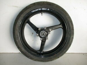 Ruota Anteriore Cerchio Dischi Ruote Honda CBR 600 RR 2003 2004 Front Wheel Disc
