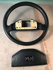 89-95 OEM Subaru Justy steering wheel 2 spoke black USDM SPEC