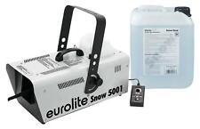 Eurolite Snow 5001 Schneemaschinen Set Snow Machine Schneefluid 5L Effektgerät