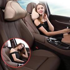 Car Seat Head Neck Rest Massage Memory Foam Cushion Pillow Support Headrest New