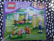 LEGO 41011 Friends 2013 RETIRED Stephanie's Soccer Practice - 80pcs. New in Box!