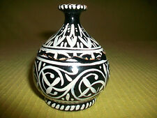 SM PAINTED WOODENWARE TRINKET BOX W LID DECORATIVE VINTAGE WOOD ART COLLECTIBLE