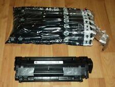 Genuine HP LASERJET 12A Q2612AC Q2612A Negro Toner Cartucho. nuevo En Bolsa abierto.
