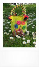 MINI MOCHILA wayuu handmade cotton bohochic gipsy crochet uncinetto wayuubag