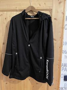Softshelljacke Damen Kangaroos Gr.50, große Größe , schwarz, neuwertig