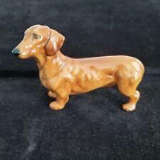 Royal Doulton Dachshound Dog Figurine