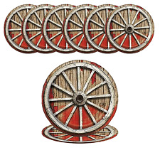23cm Rodeo Western Party Plates Pack of 8