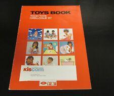 1987 Toho Sanrio Japan Toy Fair Catalog Hello Kitty Toys Dolls Play Sets Games