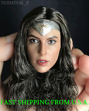 1/6 Gal Gadot WONDER WOMAN Head Sculpt For PHICEN Hot Toys Female Figure ❶USA❶