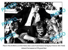 MANLY SEA EAGLES 1976 PREMIERS A3 PHOTO, FRANK STANTON