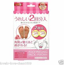 SOSU JAPAN FOOT FEET CARE PEELING MASK PERORIN ROSE (BEAUTY&HEALTH) JAPAN