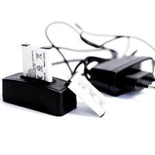 2 baterías para Canon Digital IXUS 50 +, estación de carga + red cargador