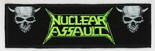 NUCLEAR ASSAULT SUPERSTRIP PATCH / SPEED-THRASH-BLACK-DEATH METAL