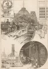 Heating New York City By Steam. Harper's 1882