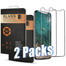 1 & 2 Pack Galaxy A50 Moto G7 Power Tempered Glass Premium Screen Protector