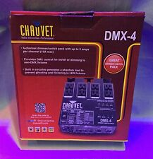 Chauvet DMX-4 Dimmer Switch Pack