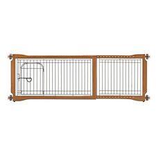 Richell 94961 Pet Sitter Freestanding Gate Plus- Autumn Matte- NEW