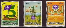 LEBANON - LIBAN MH SC# 475-477  SCOUTING YEAR