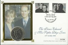 GB 1999 ROYAL WEDDING FIVE POUNDS COIN COVER 04306