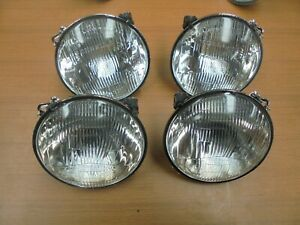 ALFA ROMEO ALFETTA GTV 2500 GTV6 SET OF CARELLO HEADLIGHT H1 NEWS