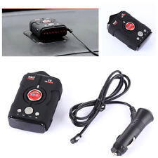 New 16-Band LED Car Radar Detector 360° Bilingual Voice Warning Laser Alarm Kit