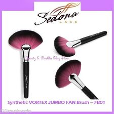 NEW Sedona Lace VORTEX SYNTHETIC JUMBO FAN Face Brush FB01 FREE SHIPPING Powder